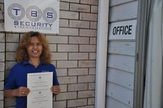 I got my Cert II Cert III in Security Operations Security Training, Online Work