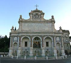 Fontana dell'Acqua Paola - Risposta 128: Carlo Fontana
