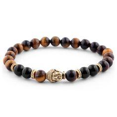 Buy Neshraw - Brown Homage to Buddha Bracelet for only Shop at Trendhim and get returns. Lava Bracelet, Bracelet Cuir, Stone Bracelet, Bracelet Set, Cheap Bracelets, Bracelets For Men, Paracord Bracelets, Beaded Bracelets, Diy Jewelry Making