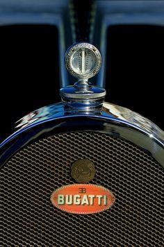 1927 Bugatti Hood Ornament