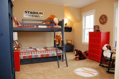 [ Pics Photos Bedroom Themes For Little Boy The Fancy Shack Ideas Boys Your Home Decorating With ] - Best Free Home Design Idea & Inspiration Little Boy Bedroom Ideas, Boys Bedroom Decor, Bedroom Themes, Bedroom Bed, Bedroom Designs, Red Dresser, Discount Bedroom Furniture, Best Leather Sofa, Awesome Bedrooms
