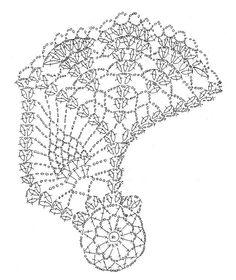 大きなパイナップルドイリーの画像:Crochet a little