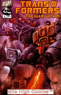TRANSFORMERS: WAR WITHIN (2002 Series) #5 Near Mint Comics Book: $2.00 End Date: Sunday Apr-29-2018 5:31:39 PDT Buy It Now for only: $2.00…
