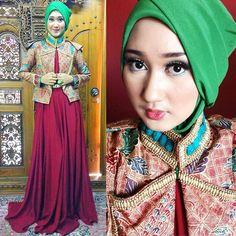 Model Blazer Batik Dian Pelangi Modern Terbaru