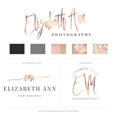 ♥ This listing was created for entrepreneurs, bloggers, event planners, boutique owners, artists, photographers and overall girl bosses! Branding yourself is one of the most important things you can do when establishing who you are as a business! Our professional logos are the perfect solution to make your blog, website and business sparkle! ♥ ::::::::::::::::::::::::::::::::::::::::::::::::::::::::::::::::::::::::::::::::::: YOU WILL RECEIVE: Logo package shown above customized with your…