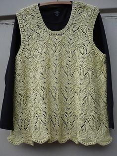 # 5 Sleeveless Pullover by Hitomi Shida