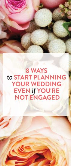 how to start planning your wedding early #marriage