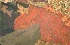 ART BLOG: Ernest Biéler : L'Eau mystérieuse 1911