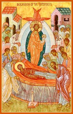 Dormition of the Theotokos by Michael Kapeluck