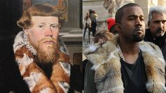 The details behind the genius Tumblr that meshes medieval art and hip hop artists (hey, Kanye!)