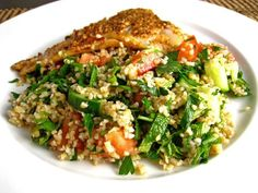 Tabbouleh  http://www.closetcooking.com/search/label/Salad?updated-max=2008-08-21T17:31:00-04:00=20=80=false
