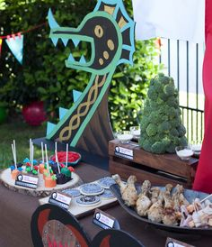 how to train your dragon party-for the sandwich