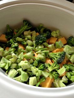 As It Seems: Crock Pot Broccoli Cheese Soup: Loved it. I substituted 2% for the milk and cheese