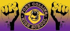 Fort Collins High School's mascot is a lambkin, which is a baby lamb.