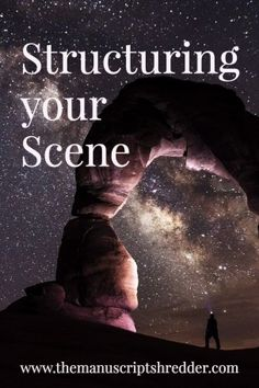 structuring your scene-www.themanuscriptshredder.com #writer #writingtips #author