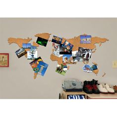 Amazon scratch off world map deluxe personalized travel map how to make a cork board world map gumiabroncs Choice Image