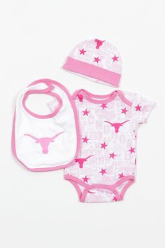 It's never too early to represent the Texas Longhorns! Dress your baby in this…