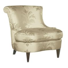 Boudoir Chair from the Mariette Himes Gomez collection by Hickory Chair Furniture Co.