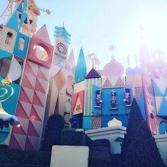 It's a small world 💖 #love #fun #smile #happy #disneylandtokyo #disney