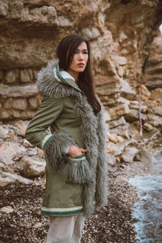 Fur Coat, Hearts, Winter Jackets, Collection, Fashion, Coats, Jackets, Women, Moda