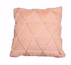 The quilted geometric dec pillow is an expression of personality. The soft hand feel of faux fur with geometric quilted pattern is perfect decoration for sofa & bed decor. Sofa Bed Decor, Color Patterns, Faux Fur, Pillow Covers, Personality, Room Decor, Throw Pillows, Decoration, Pink