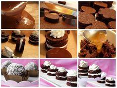 Tvarohovo-kakaové minitortičky a Guľky z odrezkov