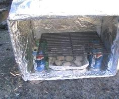 This is one way to make a great box oven.  I used my oven…