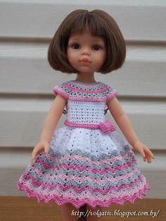 Алины игрушки - вязание для кукол