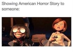 Image via We Heart It https://weheartit.com/entry/149265620 #funny #ahs