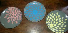 Upcycled plate art Dyi Bathroom, Plate Art, Upcycle, Plates, Cool Stuff, Ideas, Licence Plates, Dishes, Upcycling
