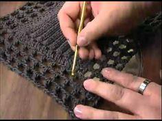 Tapete de crochê para porta ( 62cm por 50cm ) - YouTube