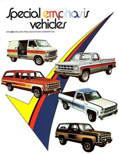 1977 GMC Special Emphasis Vehicles by Motortown Corp. | Flickr