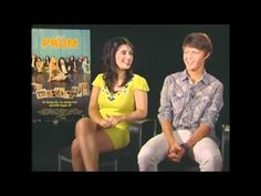 Interview (2) with Janelle Ortiz and Nolan Sotillo from the movie Prom conducted by KIDS FIRST! Film Critic Makai Weber C.