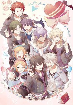 Chibi Boy, Shining Star, Ensemble Stars, Couple Art, Akatsuki, Me Me Me Anime, Cute Guys, Manga Anime, Fan Art