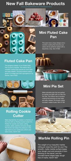 Pampered Chef New Bakeware items!