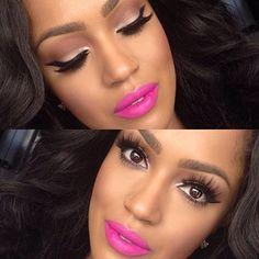 Love her makeup. (makeupshayla)