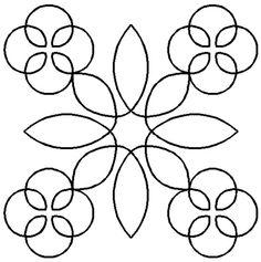Quilt Stencil Radish Top By Thimbleberries - 7in Radish Top Block ... : plastic quilting stencils - Adamdwight.com
