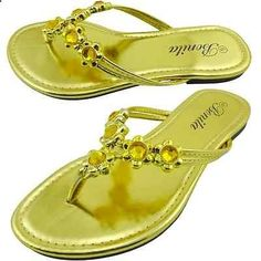Sandals Summer New-Womens-Sandal-Summer-Bling-Flat-Shoes-Flip-Flops-Thong-Size-5-to-10-VENUS-07 - There is nothing more comfortable and cool to wear on your feet during the heat season than some flat sandals.