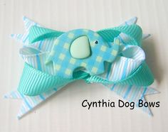 Boutique bows are a big look for your little furbaby and  will look so darn cute wearing them!Style: Boutique BowSize: 1 3/4-inchesAttachment: 2-Quality Latex Bands. If you prefer a French Barrette or Alligator clip, please upgrade using the selection box above.All my bows are thoughtf...