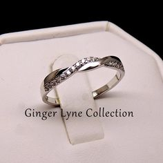 Dakota Twisted Anniversary Wedding Band Ring