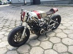 Yamaha Cafe Racer by Cardsharper Customs Yamaha Cafe Racer, Virago Cafe Racer, Cafe Racers, Cb 450 Cafe Racer, Cx500 Cafe, Moto Cafe, Cafe Bike, Cafe Racer Build, Cafe Racer Motorcycle