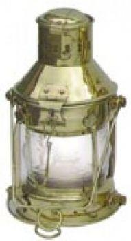 Ankerlampe Messing, elektrisch 230V, H: 24cm
