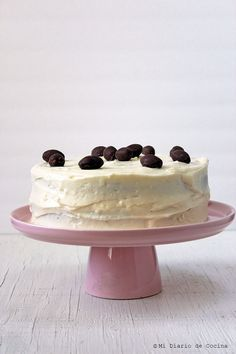 Mi Diario de Cocina | Torta de zanahoria, delicioso y fácil receta | http://www.midiariodecocina.com