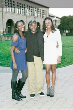 """If you ask WNBA stars Chiney and Nneka Ogwumike (self-professed nerds themselves) the biggest nerd in the family is none other than their father, Peter """"Papa D"""" Ogwumike."""