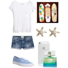 Untitled #75 by ktanner02 on Polyvore featuring polyvore, fashion, style, H&M, MANGO, Vans and Annoushka