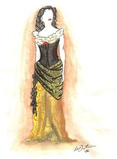 Le Fantôme de l'Opéra--newest film costume for Don Juan