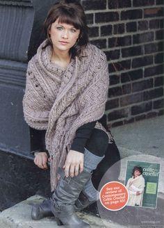 Gaithersburg stole - 1/5 - Crochet shawls