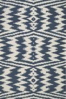 The Junction collection is a quality wool, transitional rug design from Genevieve Gorder and Capel Rugs. Junction rugs have a flat woven construction. Flat-woven rugs are unique due to their method of construction. Unlike knotted wool rugs, flat-woven rugs are made on a loom. They are thin with a very low pile, making them ideal for an entryway where door clearance is an issue. However, they are extremely durable and many are reversible for extended life and beauty.