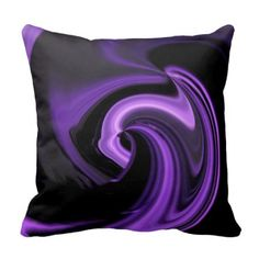 Violet black Amethyst Purple Abstract Heart Throw Pillow Cushion home decor Purple Love, All Things Purple, Shades Of Purple, Teal Green, Purple And Black, Purple Stuff, Deep Purple, Purple Hearts, Purple Satin