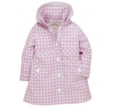 Hatley Gingham Waterproof Raincoat at Wellies and Worms £39.99
